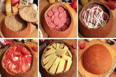 Zapomeňte na obložené chlebíčky. Tímto párty chlebem okouzlíte všechny hosty…