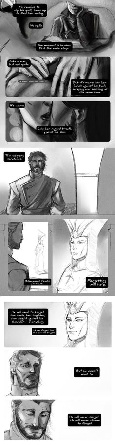 Even though I would never 'mance Cassandra, this still makes me sad   Exchanges by ximena07 on DeviantArt