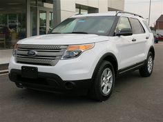New 2014 Ford Explorer 4WD (White SUV) | Charleston