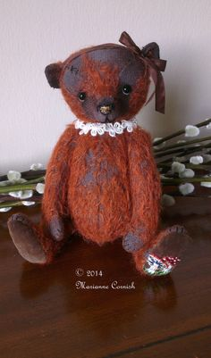 SOLD Briar, One Of A Kind Mohair Artist Bear