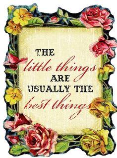 Little things are best things via bravegirlsclub.com