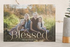 Simply Blessed by Alston Wise at minted.com
