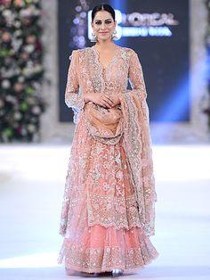 Stunning creation by Misha Lakhani seen at PFDC L'Oréal Paris Bridal Week 2015 #PFDC2015 #Frugal2Fab
