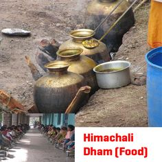 "#ChaloHimachal : Ever eaten ""Himachali Dham"" ?? The traditional Dham is celebrated with great enthusiasm. Himachal is credited with many lip smacking and mouth watering dishes.  For more info, Visit: www.chalohimachal.com"