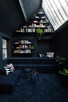 New york loft style Office Interior Design, Interior And Exterior, Interior Decorating, Interior Design New York, Gothic Interior, Interior Design Portfolios, Office Designs, Kitchen Interior, Decorating Ideas