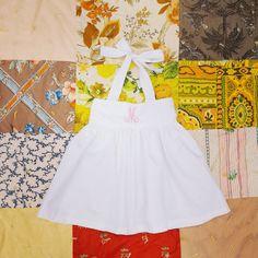 Bow Dress Girls White Dress Flower girl Dress by ShelbyJaneandCo