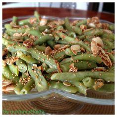 Bademli Taze Fasulye Salatası