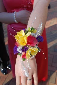 Prom Flowers - Wrist corsage