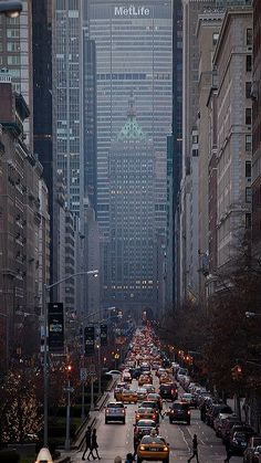 Park Avenue Looking South, NYC--glad you're okay...Yeah...twas a stressful few seconds...