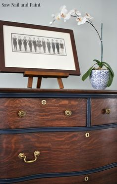A colleague of a good friend contacted me and asked if I could refinish her Grandmother's antique chest. She wanted to pass it along to her daughter and hoped to give it to her as a Christmas gift. I asked her to bring it over so I could have a look. It was covered in... Read more