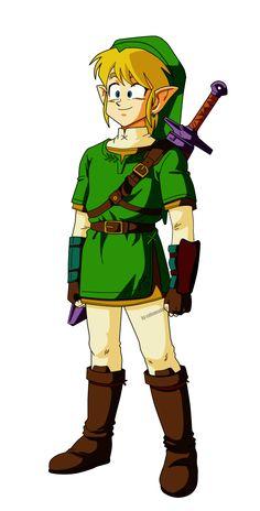 la ultima versión del clásico personaje del video juego La leyenda de Zelda