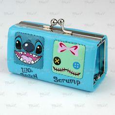 Disney Lilo & Stitch Lilo and Stitch Lipstick Coins Case Bag #39