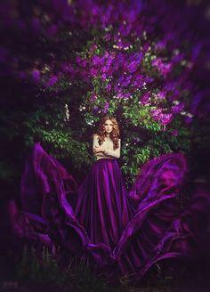 Woman in purple. #woman #purple