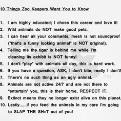 Zoo Keeper Sample Resume One Of The Only Ones I Can Find