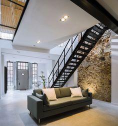 Bossche loft - wonen voor mannen - loft 64, e.v.a. architecten, den bosch, werkplaats, renovatie
