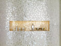 With mosaic tiles like this you could really spark up your bathroom!