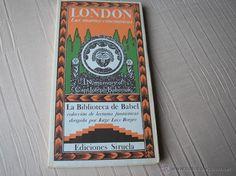 LAS MUERTES CONCÉNTRICAS.- LONDON.-SIRUELA, 1983, La biblioteca de Babel, - Foto 1