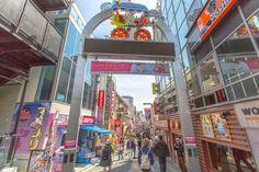Takeshita Dori Shopping Street Harajuku
