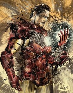 Iron Man Needs Some Repairs