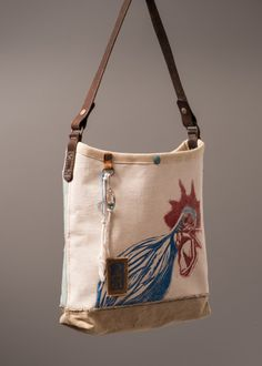 Rooster bucket bag by J. Augur Design, 2014. www.jaugurdesign.com