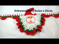 Bico em crochê Papai Noel  - PARTE 1 - CROCHÊ 68   - PASSO A PASSO - YouTube