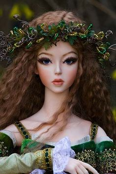 Brygid of the Wildwood - So want this gorgeous doll!