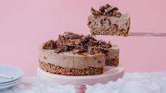 Τραγανή τούρτα σοκολάτας με crunch