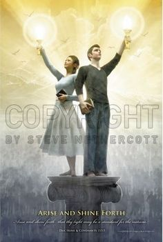 Real Hero Posters - Arise and Shine Forth - 2012 Youth Theme Poster - 24x36