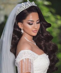 60 Quinceanera hairstyles for long hair, . - 60 Quinceanera hairstyles for long hair, - Bridal Hair And Makeup, Wedding Makeup, Hair Makeup, Bridal Hair Tiara, Black Bridal Makeup, Makeup Tips, Bridal Crown, Bridal Headpieces, Makeup Inspo