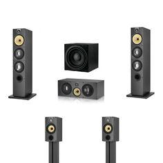 Bowers & Wilkins 600 Series - High End Home Cinema Speaker System