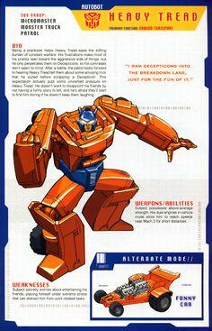 Transformer of the Day: Heavy Tread