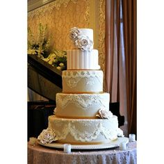 Click for Wedding Cake Collection by Cream and Lace - 003