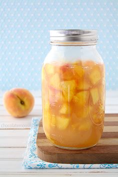 Homemade Peach Pie Filling- @Tina Doshi Schumann  this is the filling I used for the mini pies...I cut the recipe in half though because I was only making 4 peach pies
