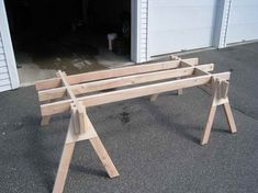 make a picnic table out of one sheet of plywood | Fine Woodworking ...