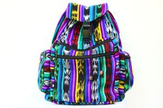 This classic style backpack is handmade in Guatemala with local Mayan fabrics. Utz meaning good in Mayan dialect, perfectly describes the patterns and colors of these bags. The Utz ClásicoBackpack incorporates traditional tribal aesthetics in a large style knapsack, sturdy enough to hold books and durable for travel. Three Exterior Large Pockets One Exterior Small [...]