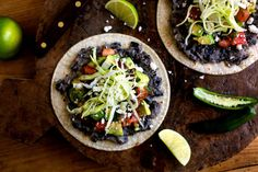 Tostadas With Smashed Black Beans or Vaqueros Recipe - NYT Cooking