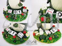 ghibli products and toys | My Neighbor Totoro Clay Calendar – Hayao Miyazaki