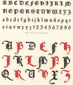 gothic graffiti alphabet letters large and small fonts