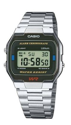 Casio Collection – Unisex Digital Watch with Stainless Steel Bracelet – 89f622a316