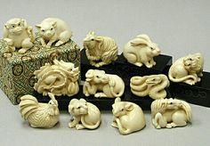 Netsuke zodiac
