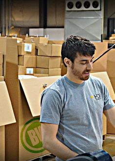 Meet Travis, he's been here since the Inception. He'll pack a box within a box within a box within...