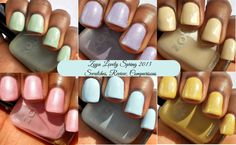 Haute Lacquer: Zoya Lovely Spring 2013 Collection Review, Swatches, and Comparisons