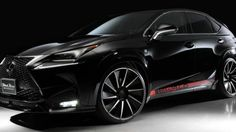Following a preview last year, Wald International has introduced their new styling program for the Lexus NX.