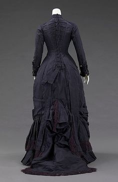 Dress, Mrs. F. M. Carroll (American), 1877, American