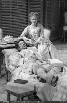 Alan Rickman as Vicomte de Valmont in Les Liaisons Dangereuses #theatre #onstage