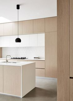 75 Stunning Minimalist Kitchen Design Ideas #kitchendesign #kitchenremodel #kitchendecor