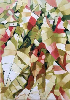 Mosaic Glass, Glass Art, Oil On Canvas, Canvas Art, Original Paintings, Original Art, Nature Paintings, Beach House Decor, Botanical Art
