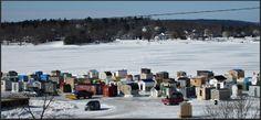 Ice Fishing Village