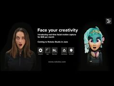 Rokoko's facial motion capture solution is here! - YouTube