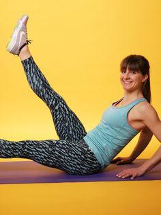 Wir zeigen euch in unseremVideo die besten Übungen, um Bauchmuskeln aus dem Winterschlaf zu wecken. Ab geht#s zum Express- Abs- Workout!